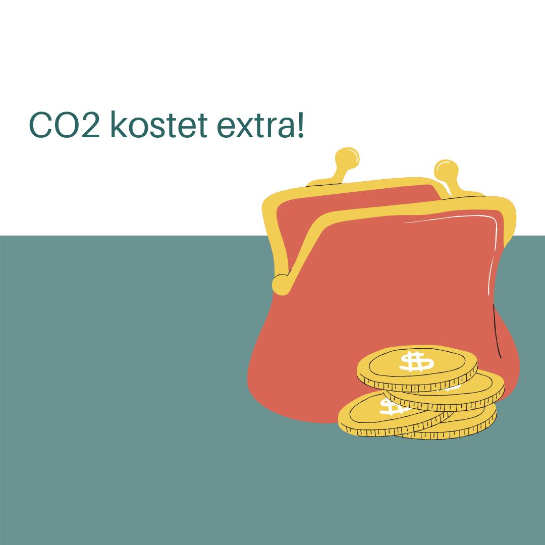 CO2 kostet extra!