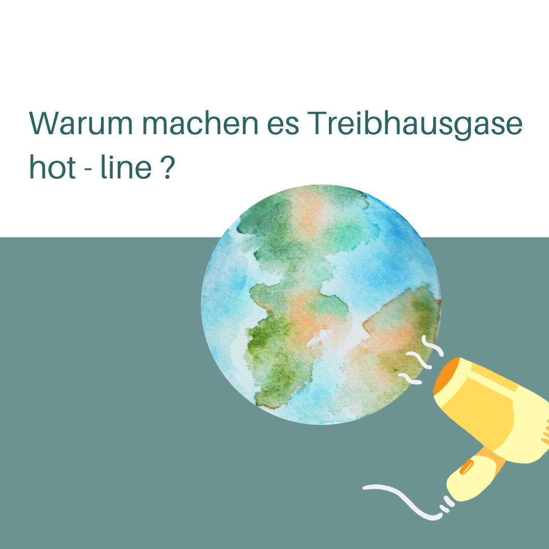 Warum machen es Treibhausgase Hot-Line