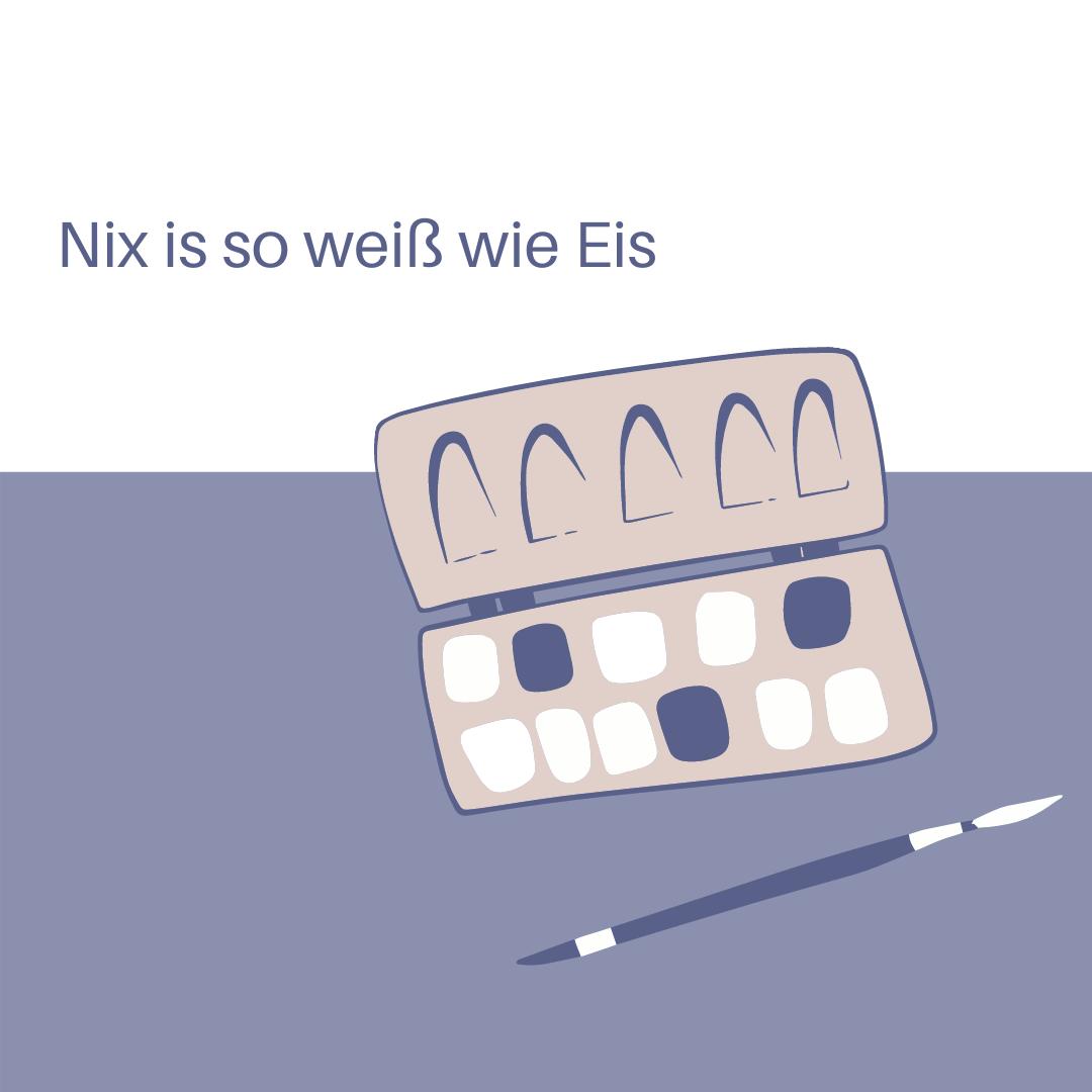 Nix is so weiß wie Eis