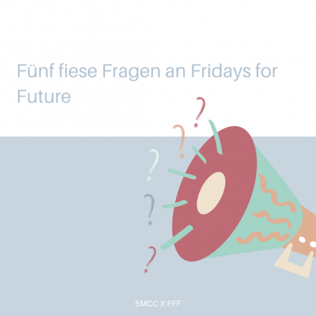 5 Fiese Fragen an Fridays For Future